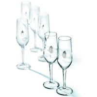 Келихи для шампанського 6 шт Chinelli