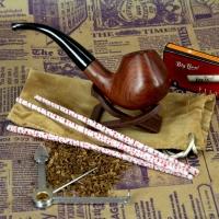 Курительная трубка D Brand из розового дерева 040