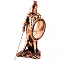Статуэтка воина Спарты со спартанским щитом T1012