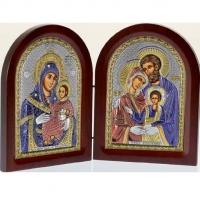 Икона складень Богородица Вифлеемская и Святое Семейство MA/E1356-31XС Prince Silvero