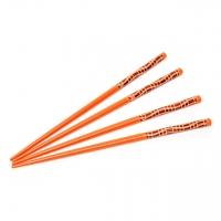 Набор палочек для суши оранжевый 2 пары 03
