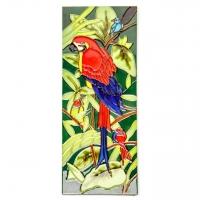 Панно на стену Попугай №4-3