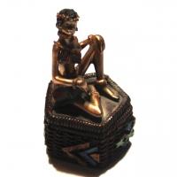 Статуэтка африканка шкатулка 7626 C