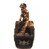 Статуэтка африканка шкатулка 7626 D