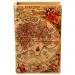 Шкатулка книга большая Античная карта C-1003B
