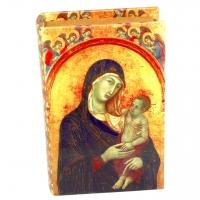 Шкатулка книга средняя Дева Мария C-10013M
