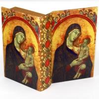Шкатулка книга средняя Дева Мария C-10013M Decos