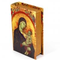 Шкатулка книга велика Діва Марія C-10013B Decos