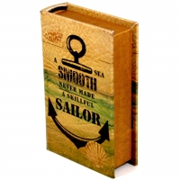 Шкатулка книга велика Sailor KSH-PU1716B