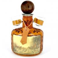 Бутылка мини-бар штоф с рюмками Охота FI-907