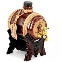 Мини бар-бочка для алкоголя подарочный 456-VA