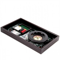 Набор игр настольный покер и рулетка в подарочной коробке Lucky Gamer