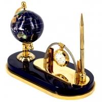 Набор настольный с глобусом и подарочной ручкой NS-1