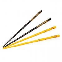Набор для суши палочки черные и желтые 2 пары 48