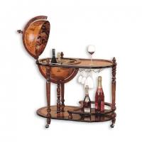 Глобус бар напольный со столиком G400-G Albero Ode