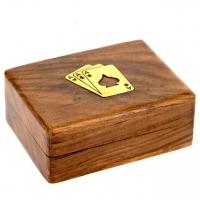 Пластиковые игральные карты Poker club WB-109R Lucky Gamer