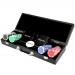 Покерный набор на 100 фишек с пластиковыми картами Pocker Club