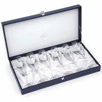 Келихи для шампанського 6 шт silver Chinelli