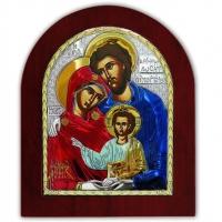 Икона Святого Семейства EP5-015XAG/P/C Silver Axion