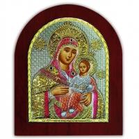 Икона Божией Матери Вифлеемская EP5-021XAG/P/C Silver Axion