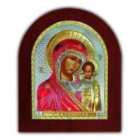 Икона Казанская Богородица EK3-004XAG Silver Axion