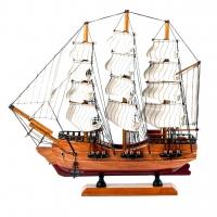 Модель корабля деревянная 34 см SH501G Two Captains