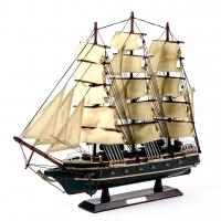 Модель боевого парусника 50 см SH5008 Two Captains