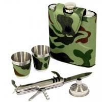 Подарочный набор Фляга для алкоголя Камуфляж A131