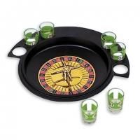 Алкогольная игра рулетка со стопками S10R на 6 рюмок