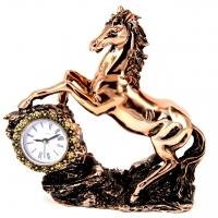 Статуэтка конь с часами PL0407U-7