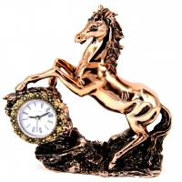 Статуэтка конь с часами PL0407U-7 Classic Art