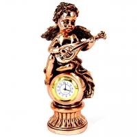 Статуетка ангел настільний годинник T1330