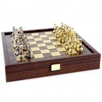 Шахматы Греко Римский период в деревянном кейсе SK3BRO