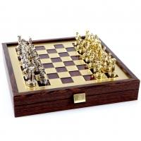 Шахи Греко Римський період в дерев'яному кейсі SK3RED Manopoulos