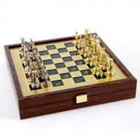 Шахи Греко Римський період в дерев'яному кейсі SK3GRE