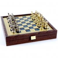 Шахи Греко Римський період в дерев'яному кейсі SK3BLU
