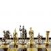 Шахматы Греко Римский период в деревянном кейсе SK11BRO