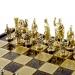 Шахматы Греко Римский период в деревянном кейсе SK11BRO Manopoulos