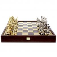 Шахматы Греко Римский период в деревянном кейсе SK11RED