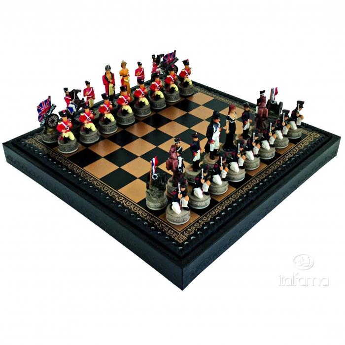 Шахматы эксклюзивные Битва при Ватерлоо R67892 219GN Italfama