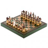 Шахи ексклюзивні Наполеон в Росії R70047 219GV Italfama