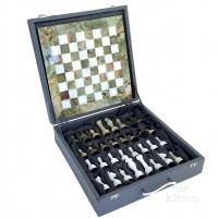 Шахматы из оникса в подарочном футляре 1004 Italfama