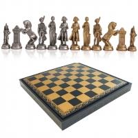 Шахматы подарочные Наполеон 57M 222GN Italfama