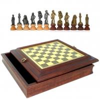 Шахматы подарочные Греческая Мифология 180MW 280BW Italfama
