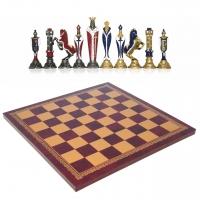 Шахматы сувенирные элитные Крестоносцы 19-48 203GR Italfama