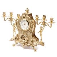 Камінні годинники і 2 канделябра Bambino 02-80.326