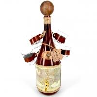 Пляшка з чарками для алкоголю міні-бар Стара карта 661-MO