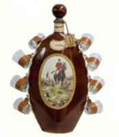 Набір подарунковий зі стопками міні-бар Полювання 673-VA Artistica Artigiana