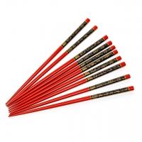 Палички для їжі комплект 5 пар червоні Арт.16