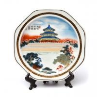 Декоративная тарелка с подставкой большая A Decos